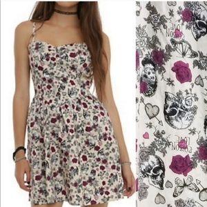 Hell bunny Skulls & Roses dress